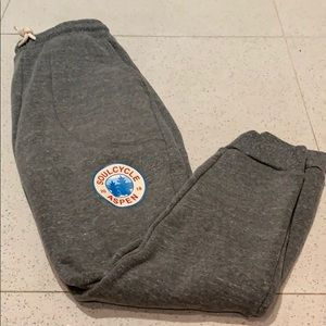 SoulCycle sweatpants from aspen pop up // size S